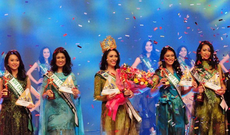 Luisa Andrea Terpilih Menjadi Miss Earth Indonesia 2016