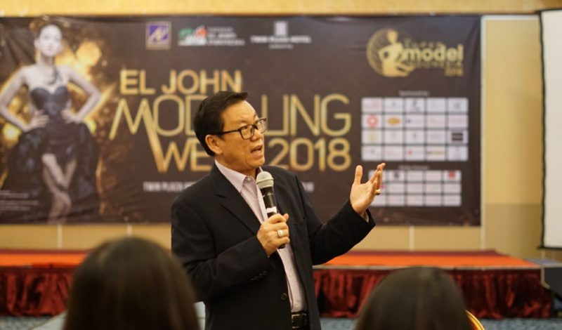 EL JOHN Modelling Week 2018: Johnnie Sugiarto Berikan Arahan Kepada Para Finalis
