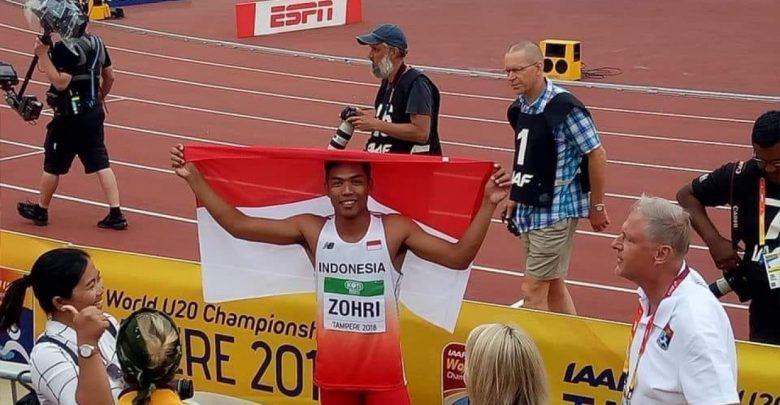 Juara Dunia Lari 100 Meter, Presiden: Seluruh Rakyat Indonesia Bangga Dengan Prestasi Zohri