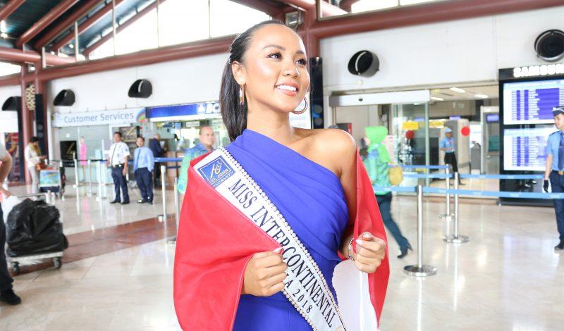 Keseruan Keberangkatan Aluna Rifani ke Miss Intercontinental 2018 !
