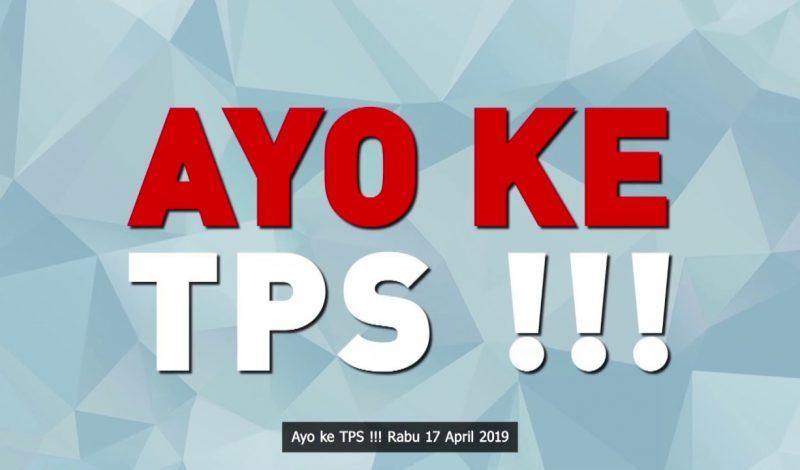 Ayo Pilih Pemimpin Anda Sekarang!! 17 April 2019